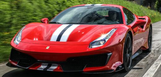 Ferrari 488 Pista, per Jeremy Clarkson è la supercar dell'anno