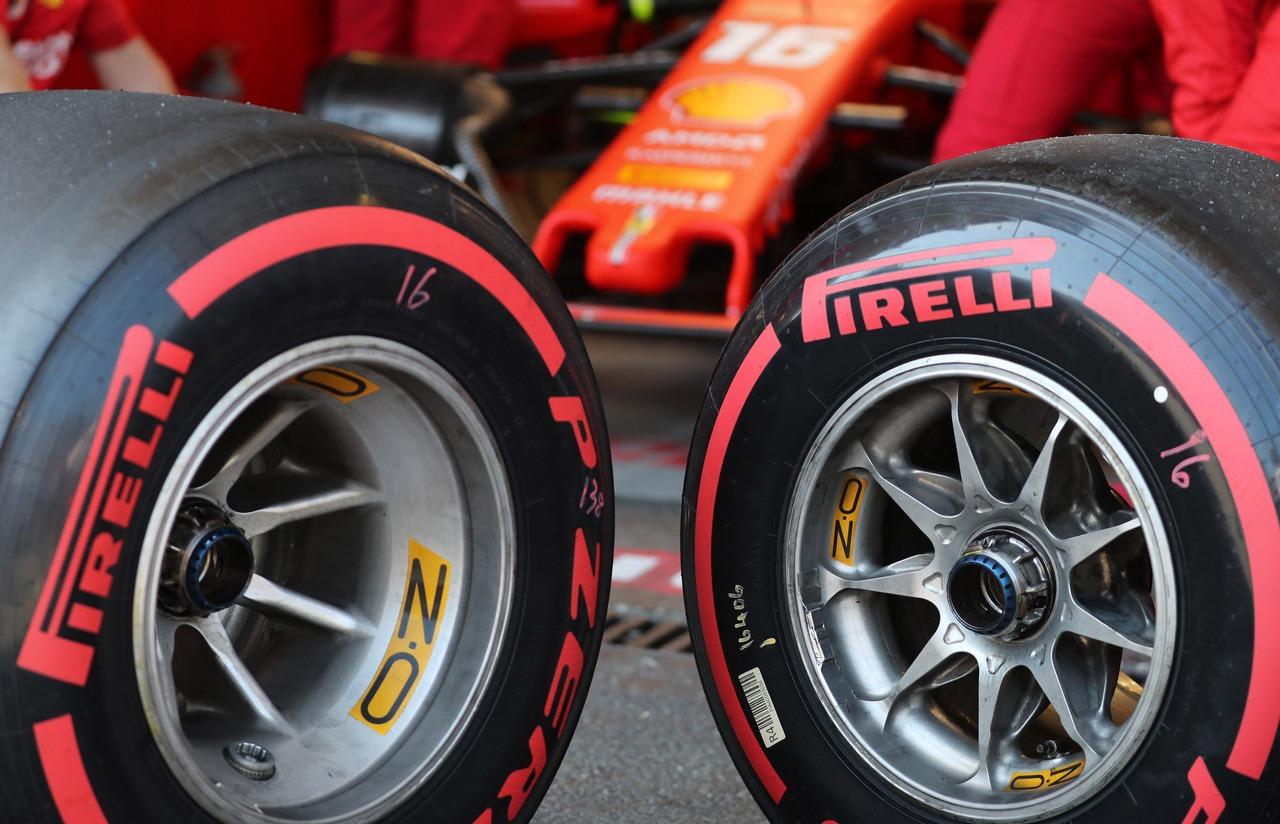 Pneumatici F1 2019