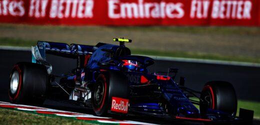 Analisi GP del Giappone: Scuderia Toro Rosso