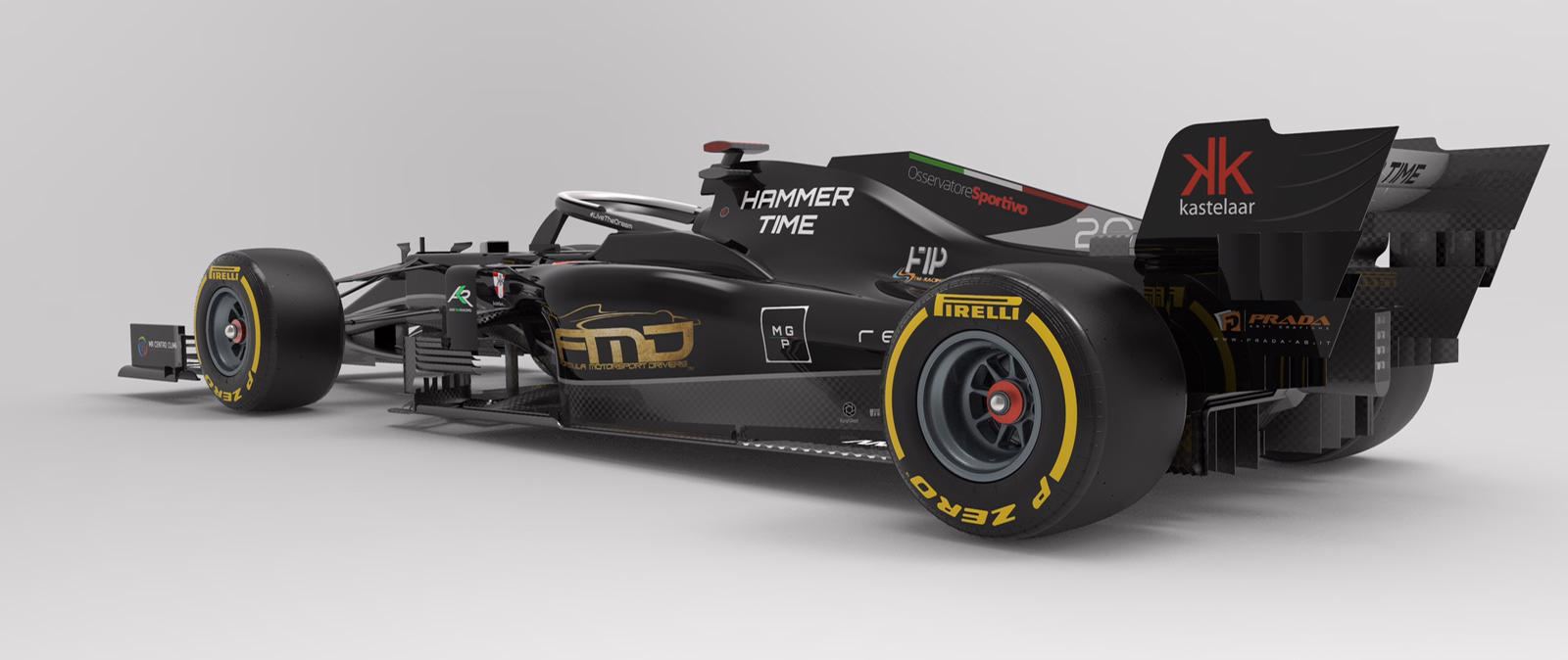 Un focus sulla R.20, la monoposto sponsorizzata da Hammer Time