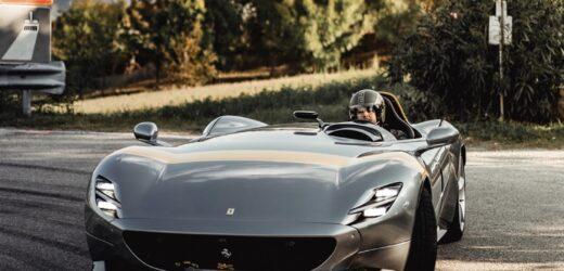 Nico Rosberg e le emozioni firmate Ferrari Monza SP1