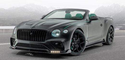 Mansory Continental GT Cabriolet V8: l'arroganza al servizio dello stile Bentley