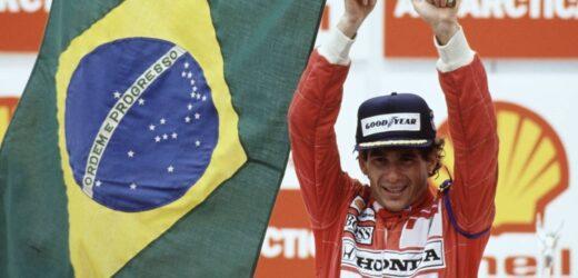Ayrton Senna e l'amore per il suo Brasile
