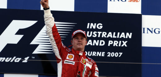 Kimi Raikkonen e l'Australia portafortuna