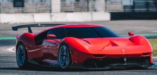 Ferrari P80/C: ritorno al futuro