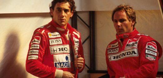 Senna e Berger, un'insolita coppia di compagni di squadra