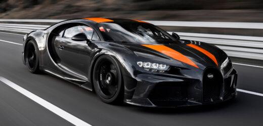Bugatti Chiron Super Sport 300+: l'ossessione per la velocità