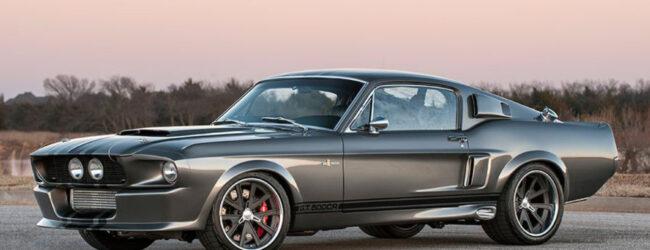 Una Shelby GT500 con il telaio in carbonio? Si, è possibile