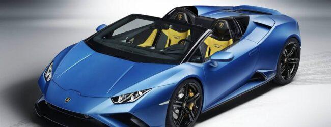 Lamborghini Huracán EVO Spyder RWD: al diavolo l'integrale