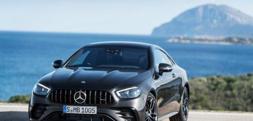 Nuova Mercedes-Benz E53 AMG Coupé: l'eleganza della cattiveria