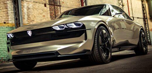 Peugeot E-Legend, la muscle car elettrica mai realizzata