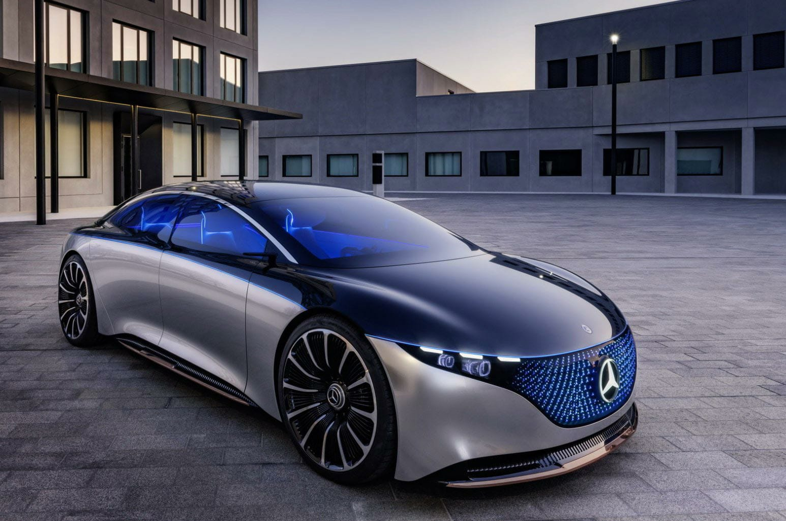 Mercedes-Benz EQS: con la Tesla Model S nel mirino
