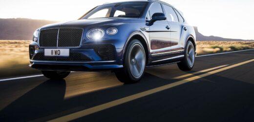 Bentley Bantayga Speed: il SUV più veloce al mondo