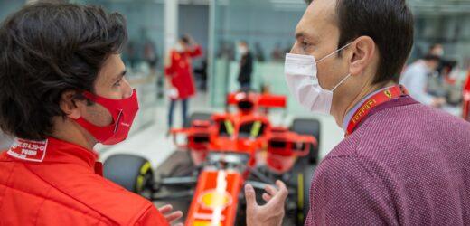 Prime prove al simulatore per Carlos Sainz