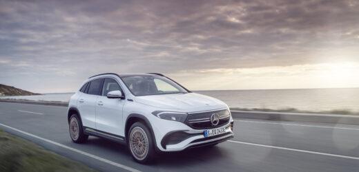 Nuova Mercedes-Benz EQA: la Stella suona la carica