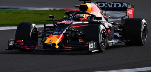 Red Bull Racing nasconde il retrotreno della RB16B