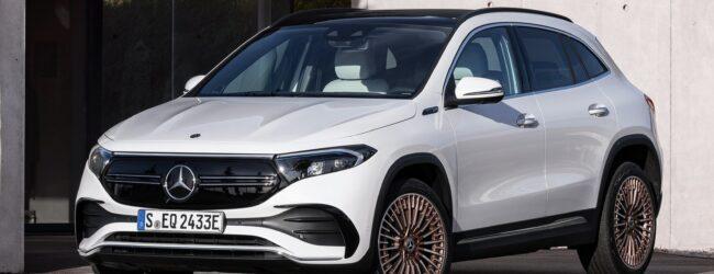 Prova su strada: Mercedes-Benz EQA