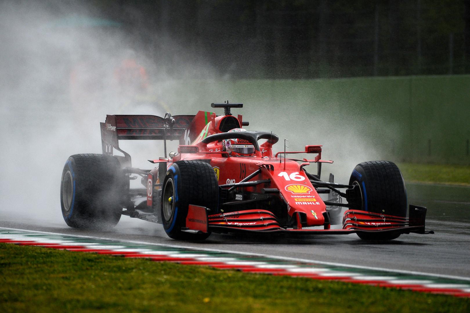 A Imola il rosso non è Ferrari