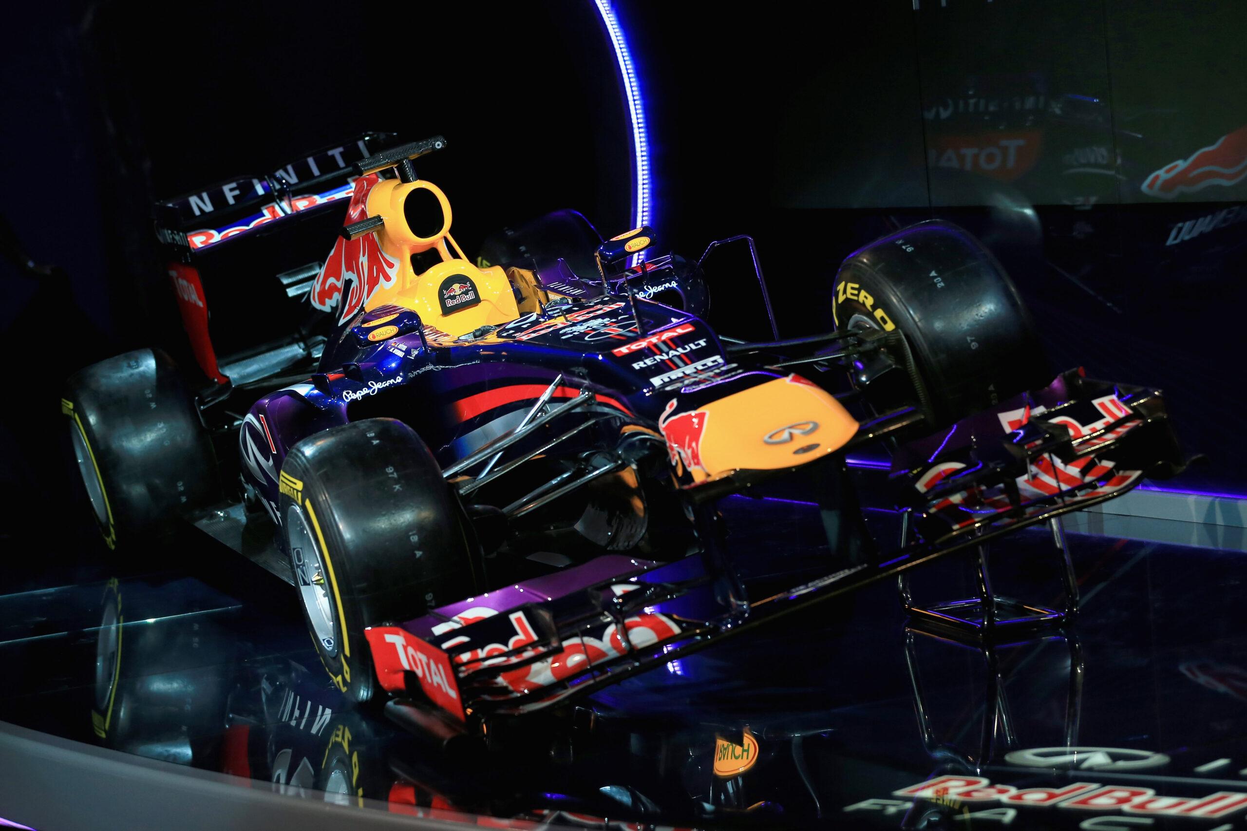 Red Bull RB9: poker servito