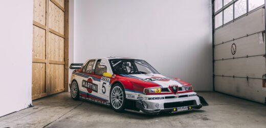 Alfa Romeo 155 V6 TI ITC: da RM Sotheby's un esemplare storico