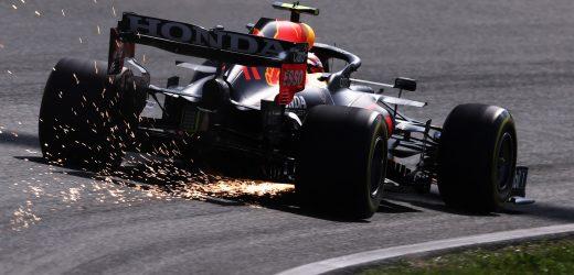 Red Bull, spunta una chiglia al posteriore