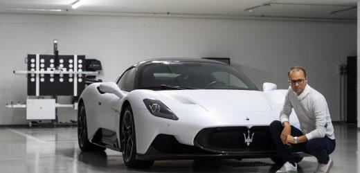 Prova su strada: Maserati MC20